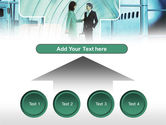 Business lady Trip PowerPoint Template#8