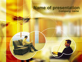 Business Concepts: Waiting Room PowerPoint Template #00314