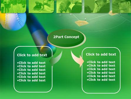 Starting Pitcher PowerPoint Template, Slide 4, 00319, Sports — PoweredTemplate.com