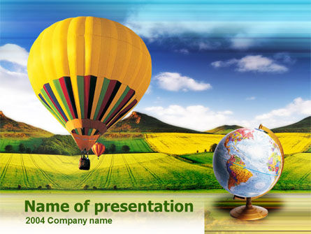 Global: Aeronautics PowerPoint Template #00320