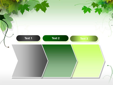 Grape Leaves PowerPoint Template Slide 16
