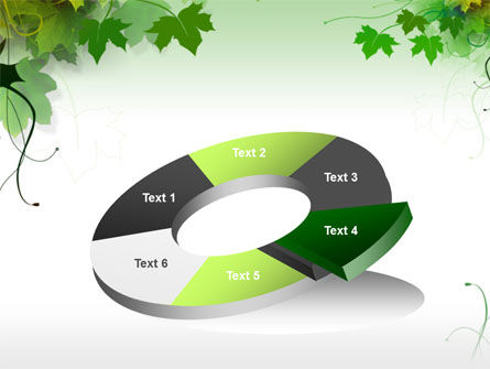Grape Leaves PowerPoint Template Slide 19