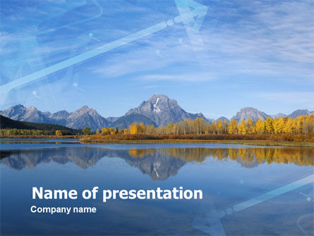 Autumn In A Mountain Land PowerPoint Template