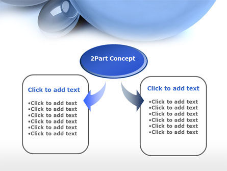 Abstract Blue Sphere PowerPoint Template Slide 4