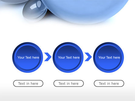 Abstract Blue Sphere PowerPoint Template Slide 5