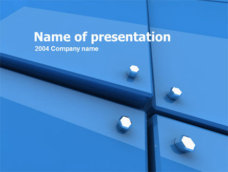 Abstract/Textures: Bolting PowerPoint Template #00326