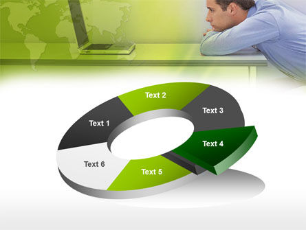 Man And Laptop PowerPoint Template Slide 19