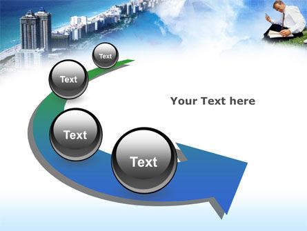 New Horizons PowerPoint Template Slide 6