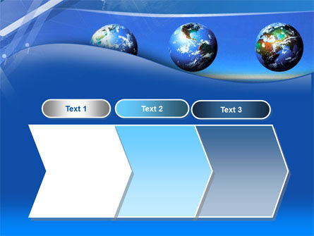 Globes Over The Sea PowerPoint Template Slide 16