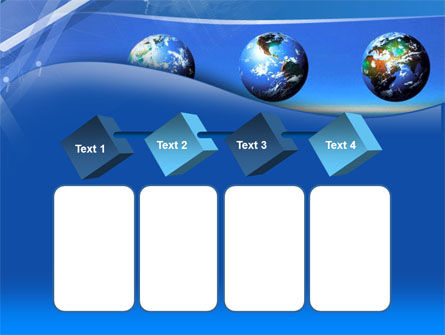 Globes Over The Sea PowerPoint Template Slide 18