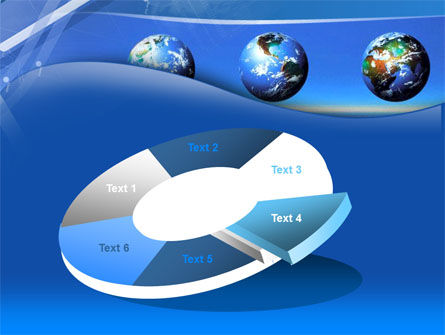 Globes Over The Sea PowerPoint Template Slide 19
