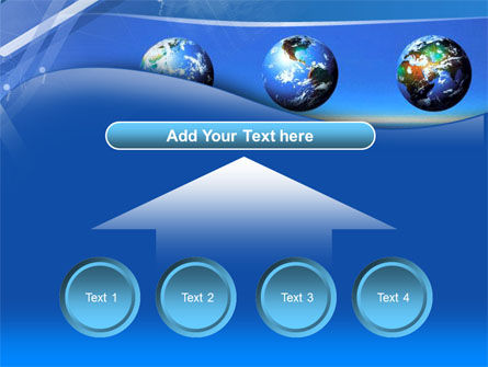 Globes Over The Sea PowerPoint Template Slide 8