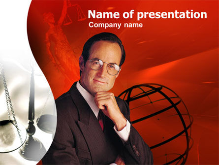 Legal Expert PowerPoint Template, 00333, Legal — PoweredTemplate.com