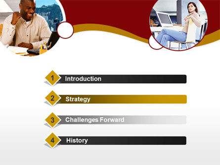 Modern Communication PowerPoint Template, Slide 3, 00334, People — PoweredTemplate.com