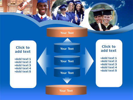 Commencement PowerPoint Template Slide 13