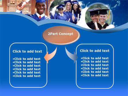 Commencement PowerPoint Template, Slide 4, 00335, Education & Training — PoweredTemplate.com