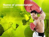 Sports: Plantilla de PowerPoint - boxeo #00337