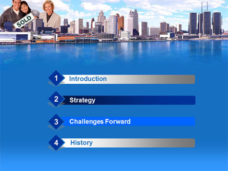 Big City Real Estate Agency Activity PowerPoint Template Slide 3