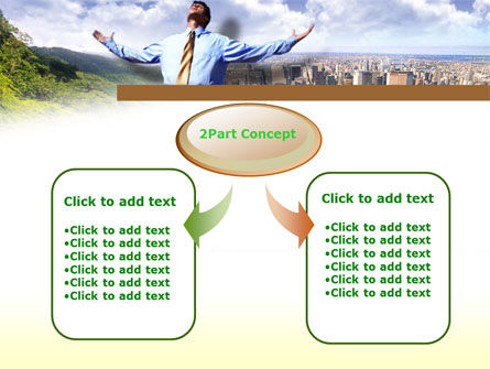 Peak Of Success PowerPoint Template, Slide 4, 00340, Business — PoweredTemplate.com