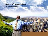Peak Of Success PowerPoint Template#1