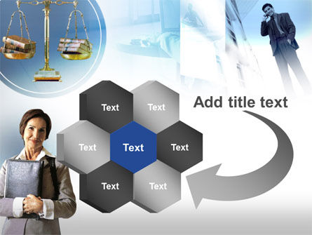 Lady Lawyer PowerPoint Template Slide 11