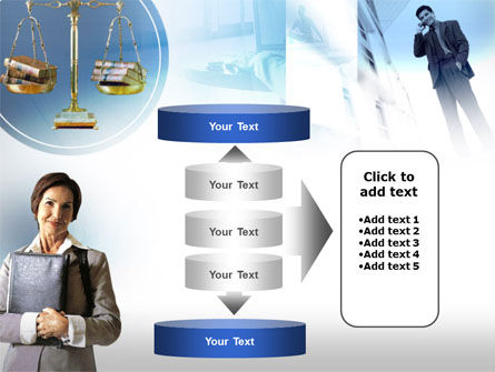 Lady Lawyer PowerPoint Template Slide 13