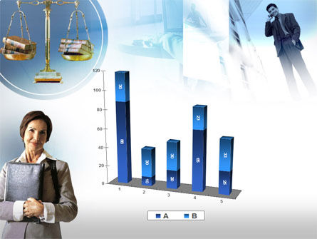 Lady Lawyer PowerPoint Template Slide 17