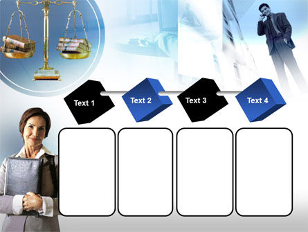 Lady Lawyer PowerPoint Template Slide 18
