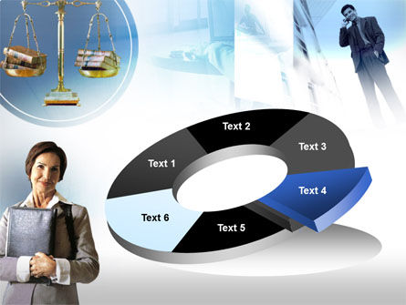 Lady Lawyer PowerPoint Template Slide 19