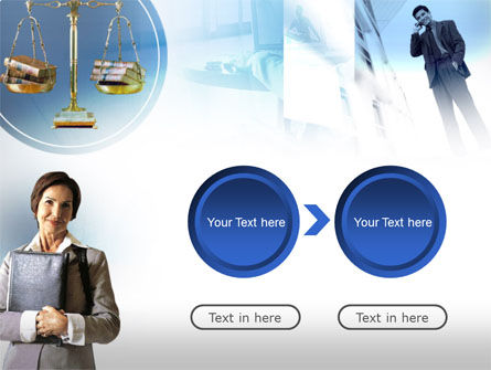 Lady Lawyer PowerPoint Template Slide 5