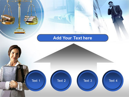 Lady Lawyer PowerPoint Template Slide 8
