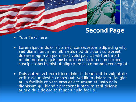 Legislation of America PowerPoint Template, Slide 2, 00342, America — PoweredTemplate.com