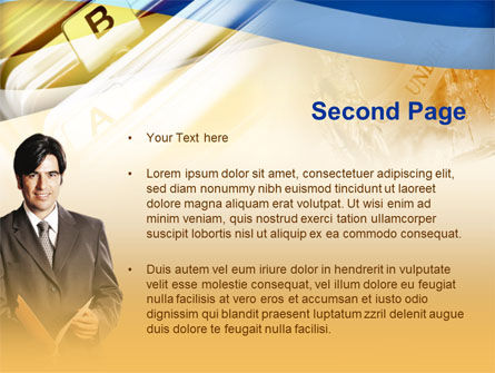 Clerical Work PowerPoint Template, Slide 2, 00343, Business — PoweredTemplate.com