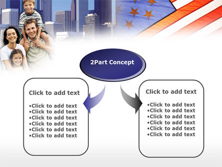 American Flag Day PowerPoint Template, Slide 4, 00347, America — PoweredTemplate.com