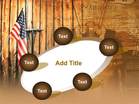 Patriotic PowerPoint Template Slide 14