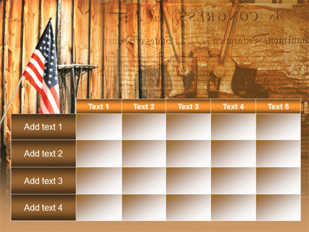 Patriotic PowerPoint Template Slide 15
