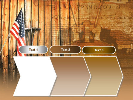 Patriotic PowerPoint Template Slide 16