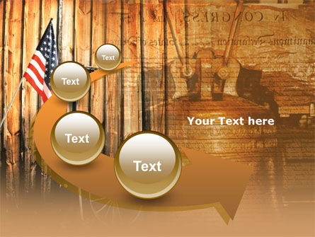Patriotic PowerPoint Template Slide 6