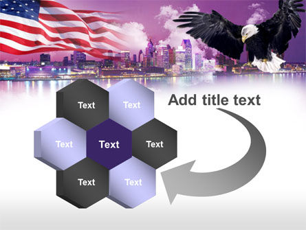 American Eagle PowerPoint Template Slide 11