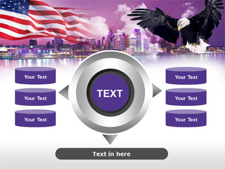 American Eagle PowerPoint Template Slide 12