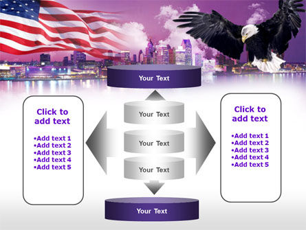 American Eagle PowerPoint Template Slide 13