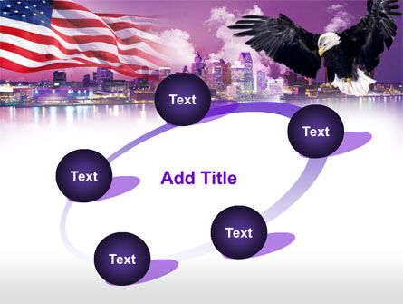 American Eagle PowerPoint Template Slide 14