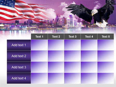 American Eagle PowerPoint Template Slide 15