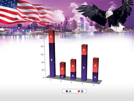 American Eagle PowerPoint Template Slide 17