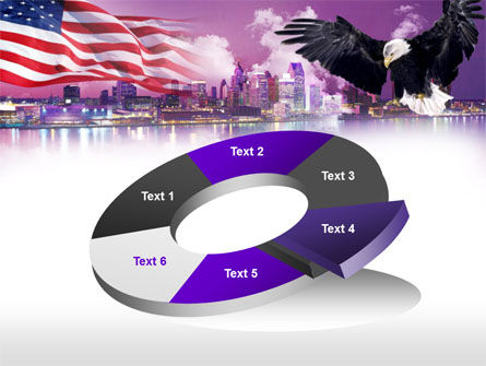 American Eagle PowerPoint Template Slide 19
