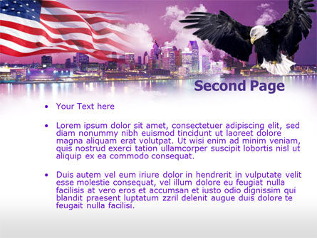 American Eagle PowerPoint Template Slide 2
