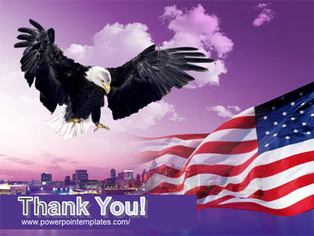 American Eagle PowerPoint Template Slide 20