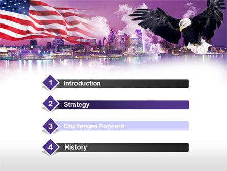 American Eagle PowerPoint Template Slide 3