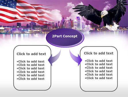 American Eagle PowerPoint Template Slide 4