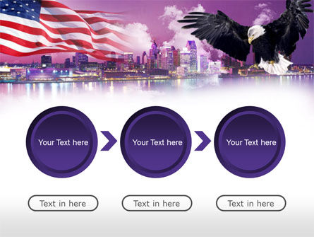 American Eagle PowerPoint Template Slide 5